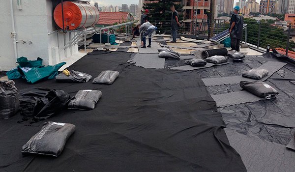 Construção - Laje Verde ou Telhado Verde - ECRA sustentabilidade Urbana