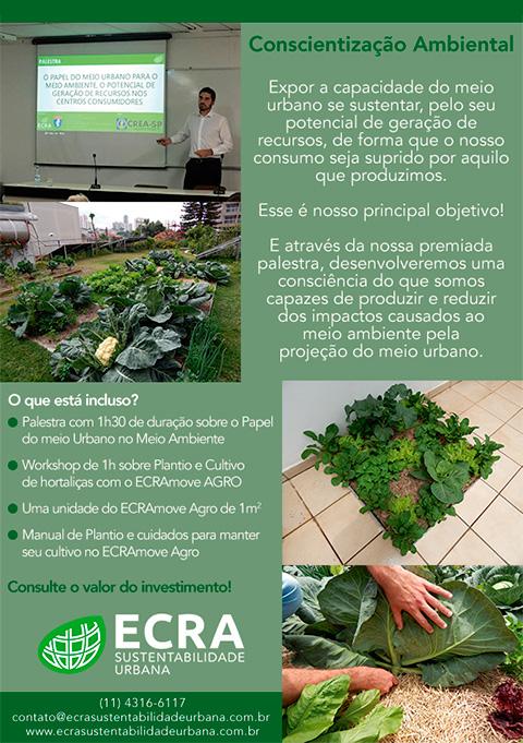 Palestra de Conscientização Ambiental